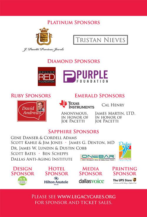 Leslie Jordan Sponsors