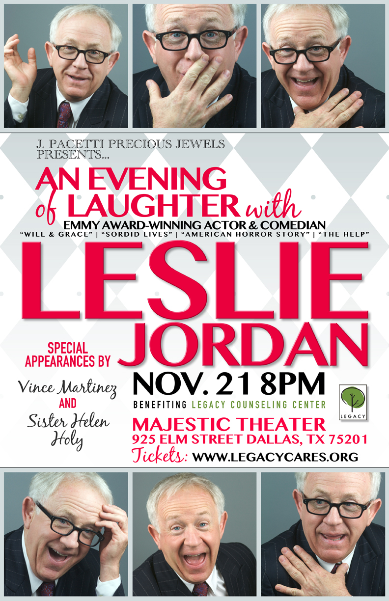 Evening with Leslie Jordan